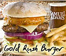 Gold Rush Burger - Hurricane grill & Wings - Kevin Sutton Show