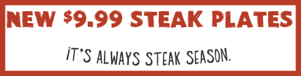 Kevin Sutton Show - Outback Steakhouse - Steak Plates logo