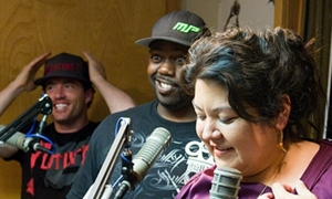 Kevin Sutton Show - Stevie from Future 6 - Kevin - Mayra - Faithy Fun Time