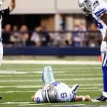 Tony Romo is hurt