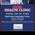 DENA GRAYSON HEALTH FAIR
